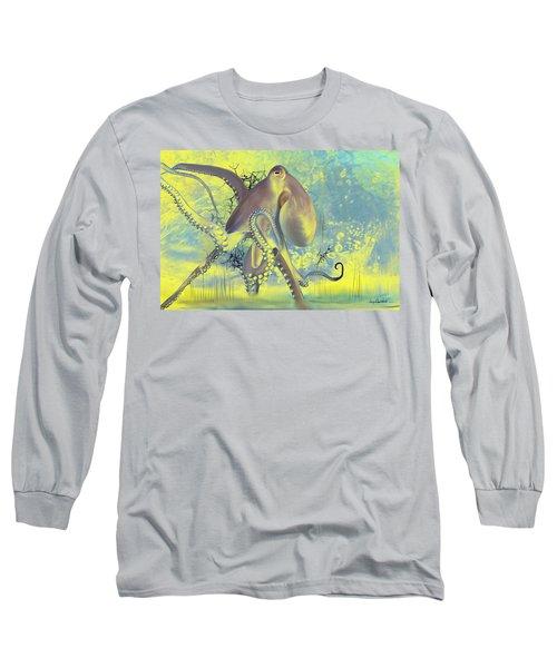 Octupus -1 Long Sleeve T-Shirt