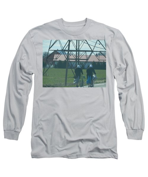 Off To Shop Long Sleeve T-Shirt