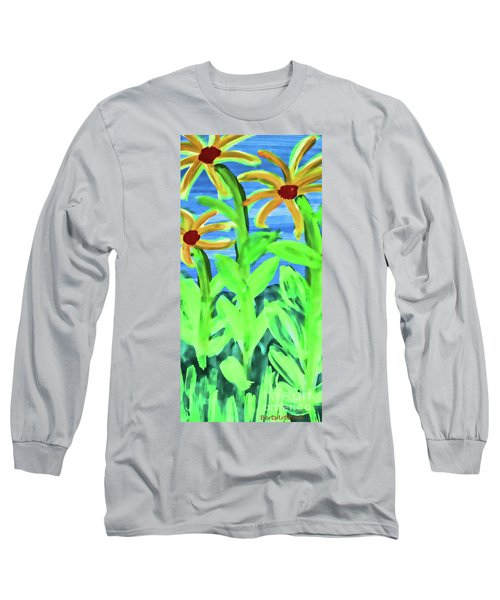 Oh Glorious Day Floral Long Sleeve T-Shirt
