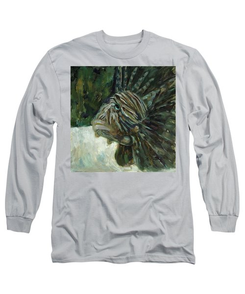 Long Sleeve T-Shirt featuring the painting Oh The Troubles I've Seen by Billie Colson