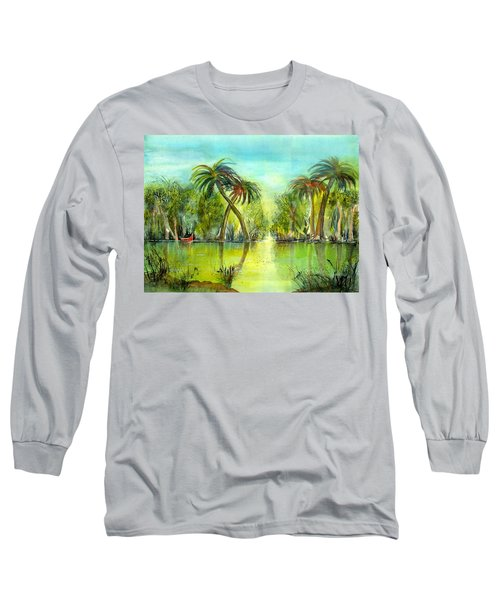 Okefenokee Swamp Long Sleeve T-Shirt