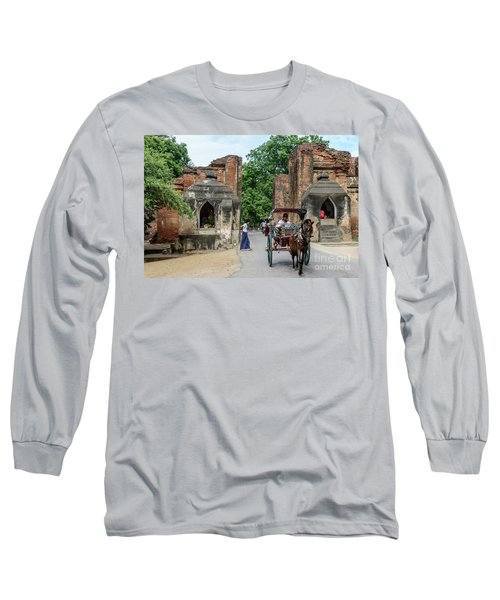 Old Bagan Long Sleeve T-Shirt
