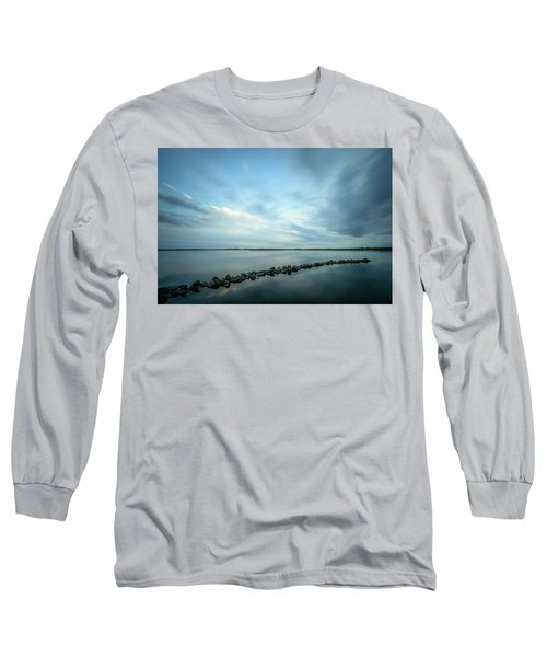 Old Blue Morning Long Sleeve T-Shirt