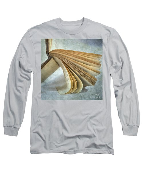 Old Book Long Sleeve T-Shirt
