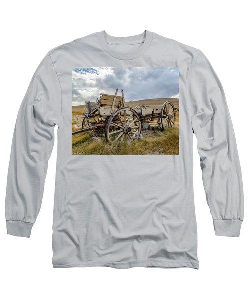 Old Buckboard Wagon Long Sleeve T-Shirt