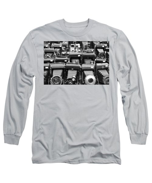 Old Cameras Long Sleeve T-Shirt