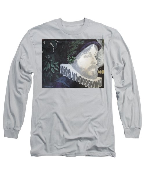 Old Englishman Long Sleeve T-Shirt by Bernard Goodman