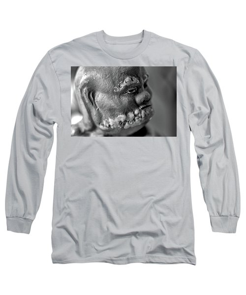 Old Face, Statue Long Sleeve T-Shirt