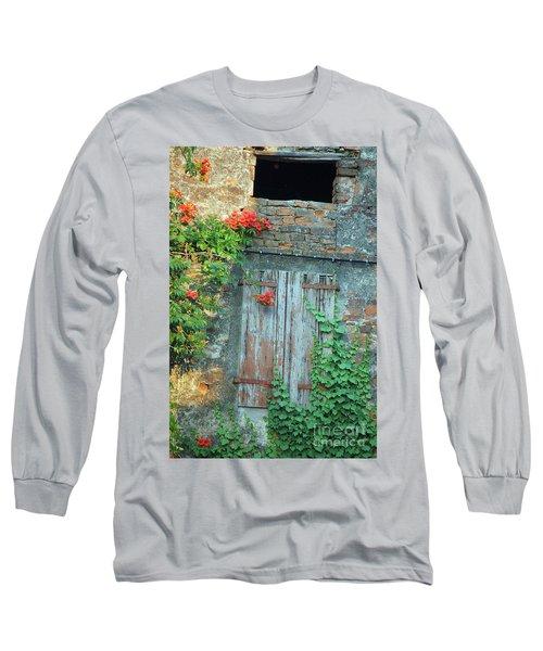 Old Farm Door Long Sleeve T-Shirt
