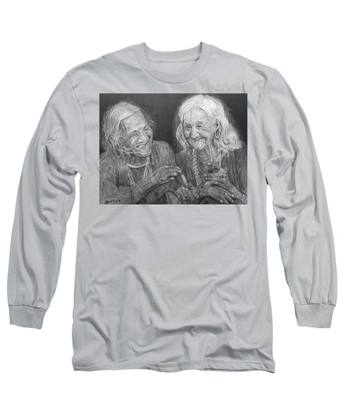 Old Friends, Smokin' And Jokin' 2 Long Sleeve T-Shirt