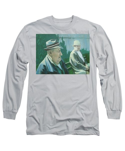 Old Friends Long Sleeve T-Shirt by Susan Lafleur