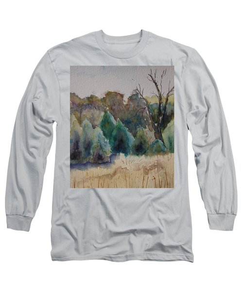 Old Growth Forest Long Sleeve T-Shirt by Patsy Sharpe