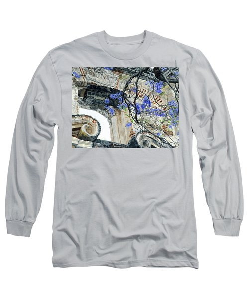 Old Growth Wisteria Long Sleeve T-Shirt