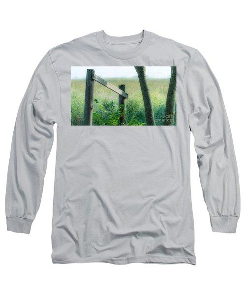 Old Hand Rail Long Sleeve T-Shirt