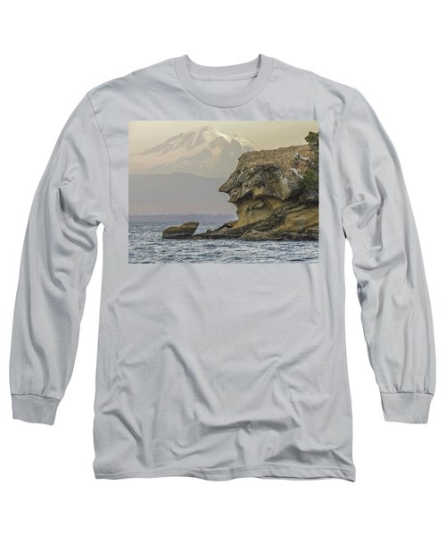 Old Man And The Mountain Long Sleeve T-Shirt