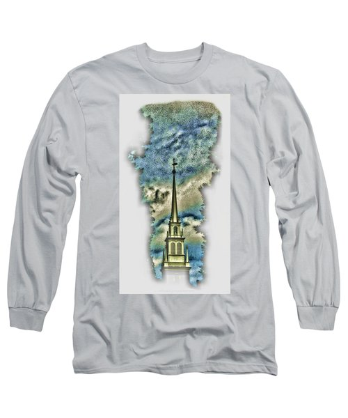 Old North Church Steeple Long Sleeve T-Shirt