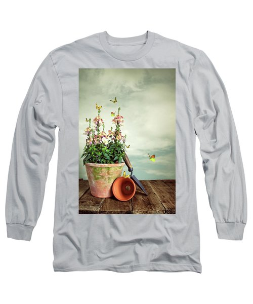 Old Plant Pot Long Sleeve T-Shirt