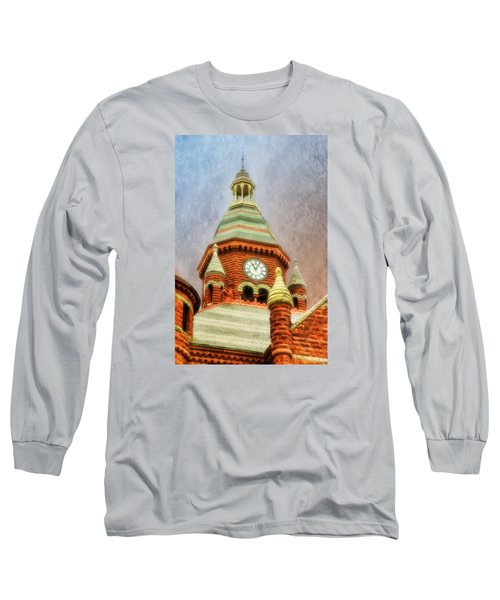 Long Sleeve T-Shirt featuring the photograph Old Red by Joan Bertucci