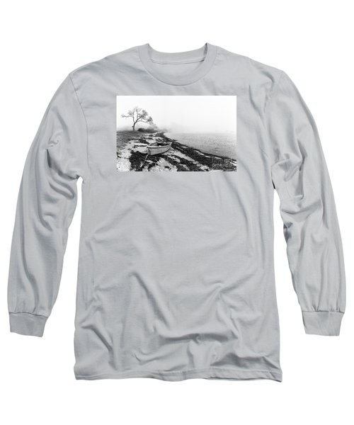 Old Rowing Boat Long Sleeve T-Shirt