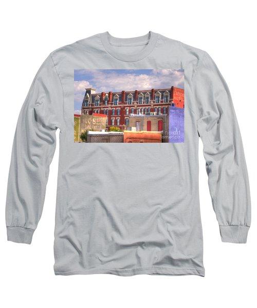 Old Town Wichita Kansas Long Sleeve T-Shirt