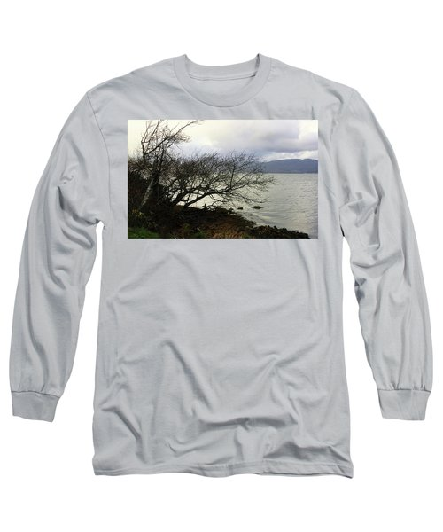 Long Sleeve T-Shirt featuring the photograph Old Tree By The Bay by Chriss Pagani