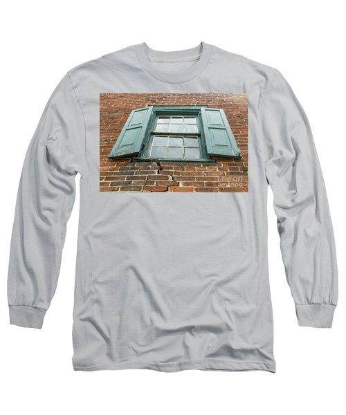Old Warehouse Window Long Sleeve T-Shirt