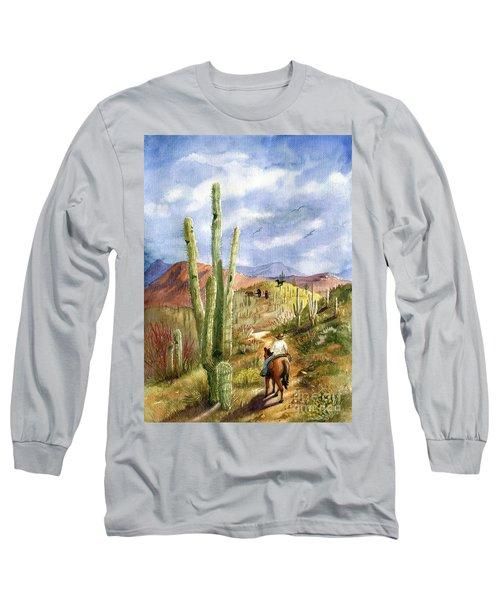 Old Western Skies Long Sleeve T-Shirt