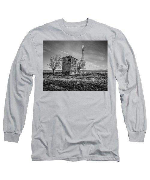 Old Windpump Long Sleeve T-Shirt