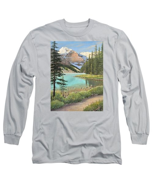 On A Summer's Day Long Sleeve T-Shirt