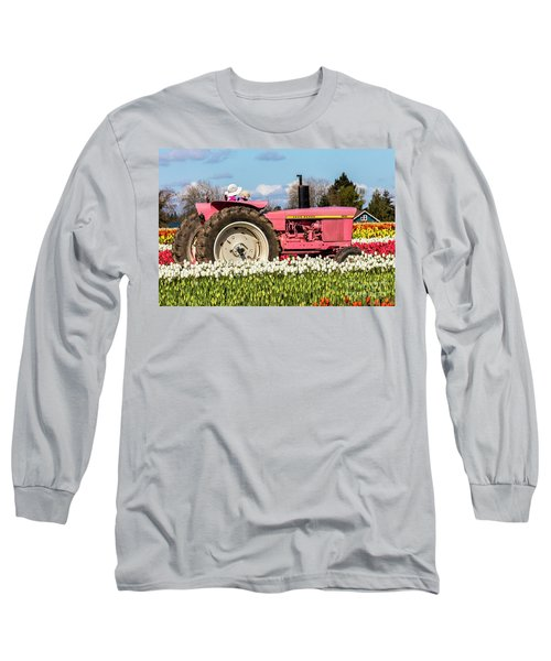 On The Field Of Beauty Long Sleeve T-Shirt