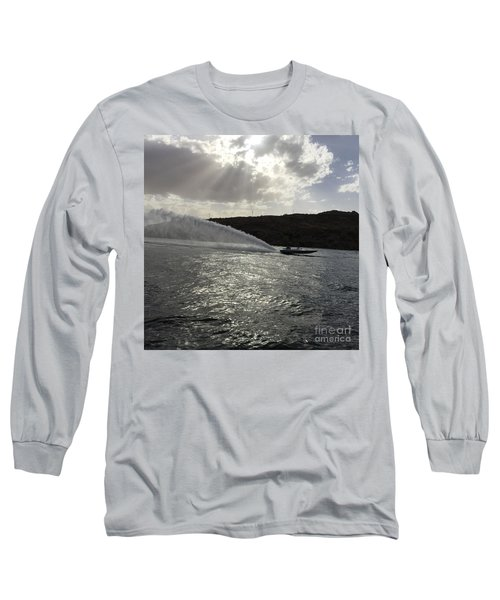 On The Lake Long Sleeve T-Shirt by Renie Rutten