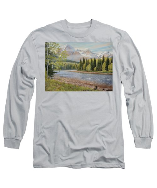 On The Riverside Long Sleeve T-Shirt
