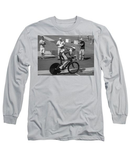 One Lap To Go Long Sleeve T-Shirt