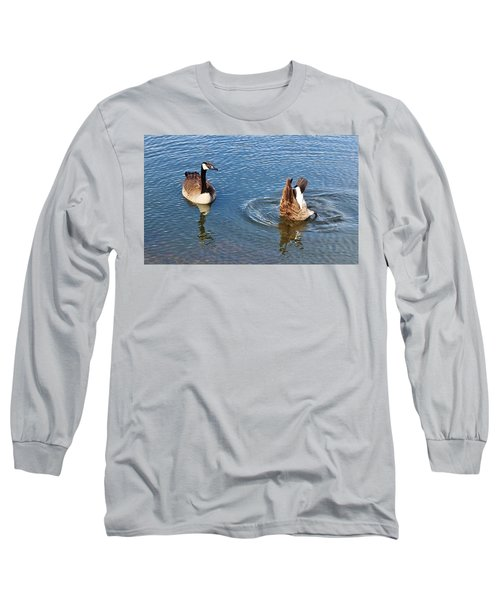 One Up One Down Long Sleeve T-Shirt