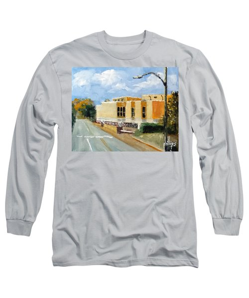 Long Sleeve T-Shirt featuring the painting Onslow New Courthouse by Jim Phillips
