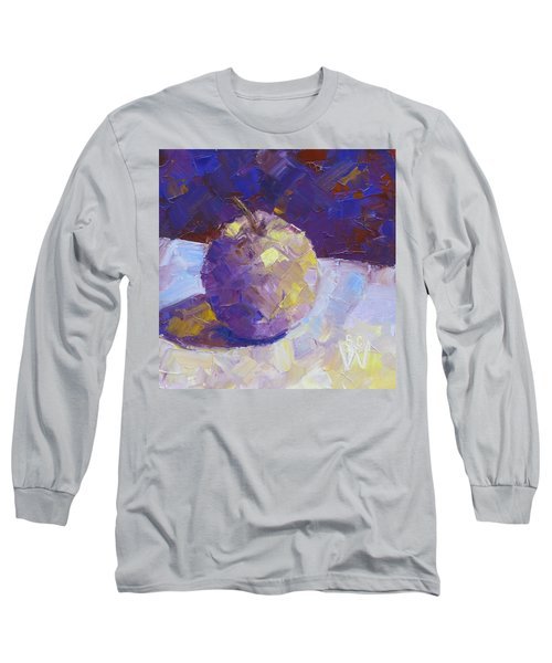 Opal In Lavender Long Sleeve T-Shirt by Susan Woodward