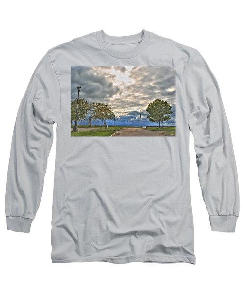 Long Sleeve T-Shirt featuring the photograph Open Heavens  by Michael Frank Jr