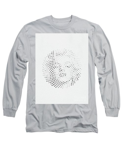 Long Sleeve T-Shirt featuring the digital art Optical Illusions - Iconical People 1 by Klara Acel