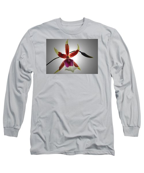 Orchid Cambria. Long Sleeve T-Shirt by Terence Davis