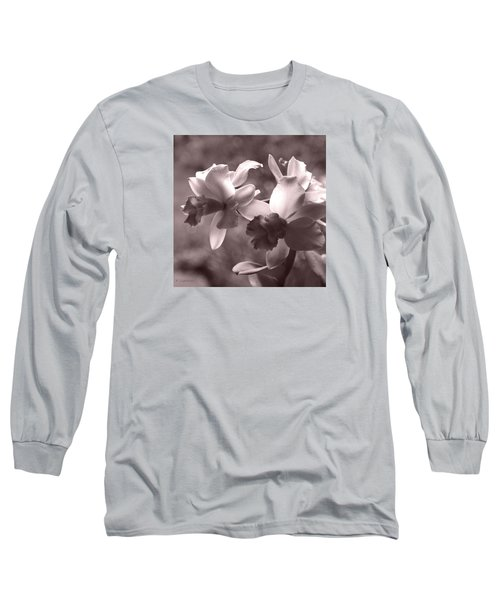 Orchid Dream - Square Long Sleeve T-Shirt