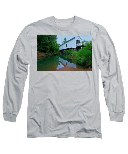 Oregon Covered Bridge Long Sleeve T-Shirt