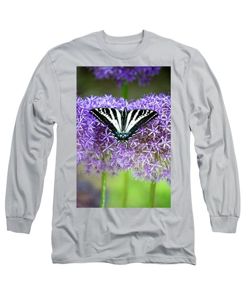 Oregon Swallowtail Long Sleeve T-Shirt by Bonnie Bruno