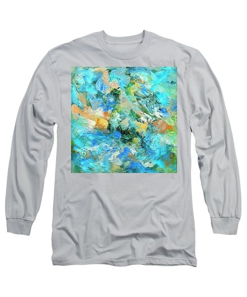 Long Sleeve T-Shirt featuring the painting Orinoco by Dominic Piperata