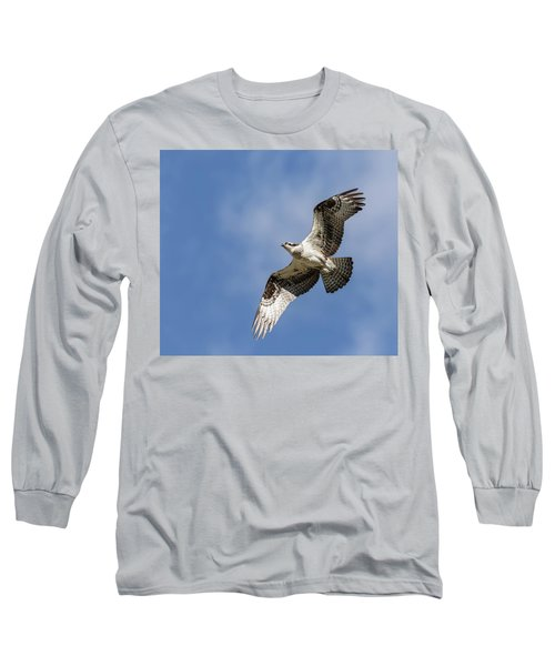 Long Sleeve T-Shirt featuring the photograph Osprey 2017-3 by Thomas Young