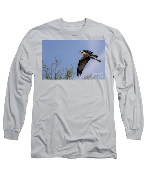 Osprey Collecting Sticks Long Sleeve T-Shirt