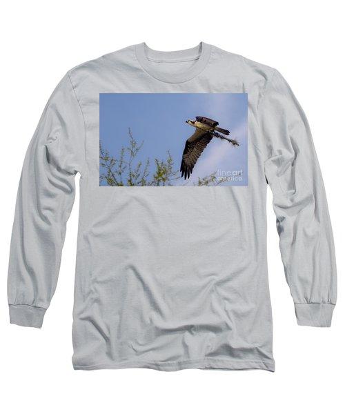 Osprey Collecting Sticks Long Sleeve T-Shirt