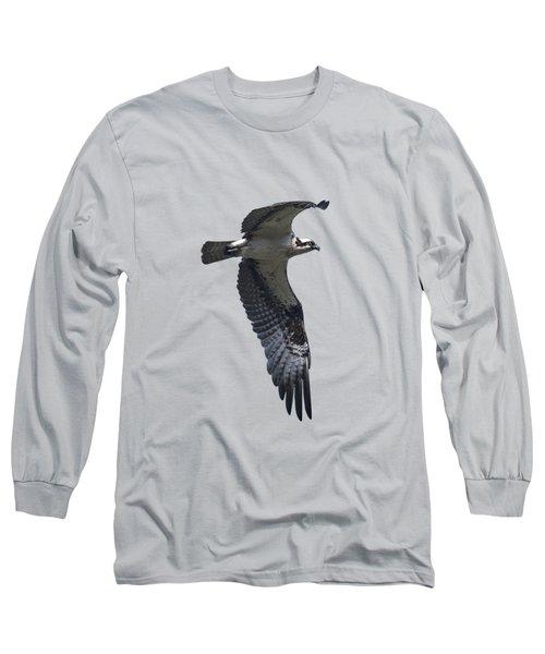 Osprey In Flight 2 Long Sleeve T-Shirt