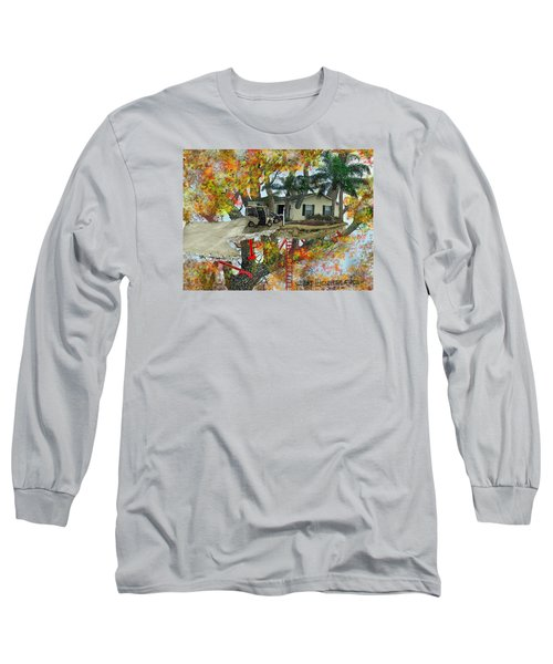 Our Tree House Long Sleeve T-Shirt by Jim Hubbard