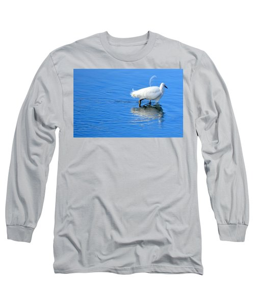 Long Sleeve T-Shirt featuring the photograph Out Of Place by AJ Schibig