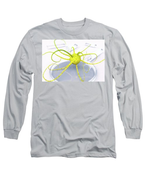 Out Of The Petri Dish... Long Sleeve T-Shirt by Tim Fillingim